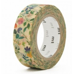 MT Masking Washi tape - Watercolor Flower