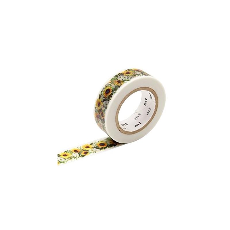 MT Masking Washi tape - Sunflower