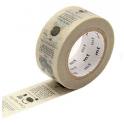 MT Masking Washi tape - Tea ceremony
