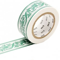 MT Masking Washi tape - William Morris Lily border