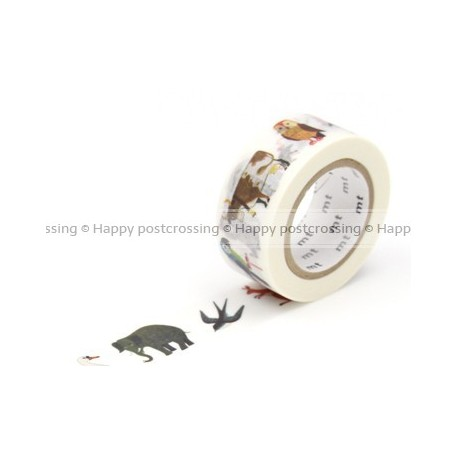MT Masking Washi tape - Animal