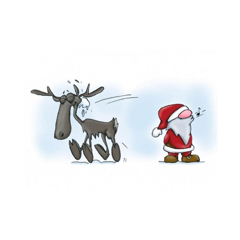 Santa & Eric - Sneeuwbal