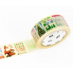 MT Masking Washi tape - Christmas news