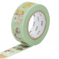 MT Masking Washi tape - Baby animals