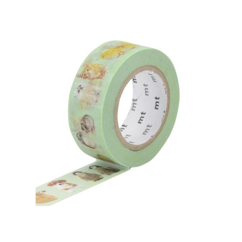 MT Masking Washi tape - Baby animals
