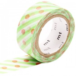 MT Masking Washi tape - Dot and stripe