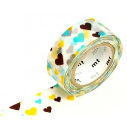 MT Masking Washi tape - Hearts
