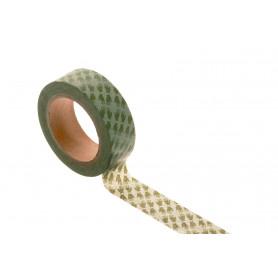 Washi tape - Hands Green