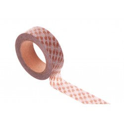 Washi tape - Hands Brown