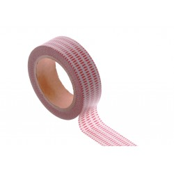 Washi tape - Awesome stripes Red
