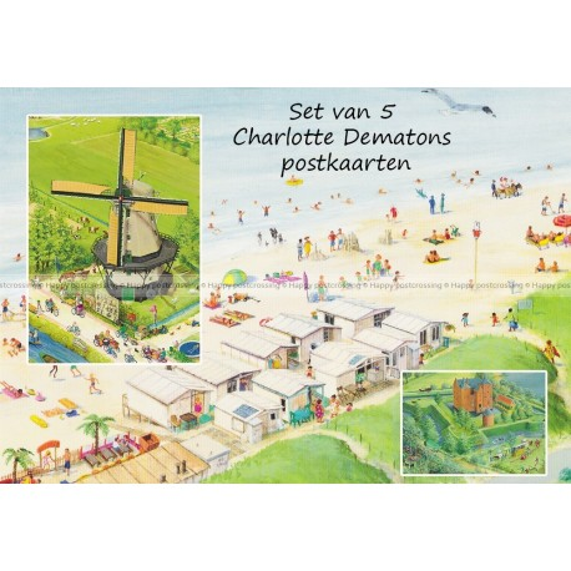 Set - Charlotte Dematons 5x