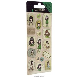 Gorjuss stickers - The Scarf