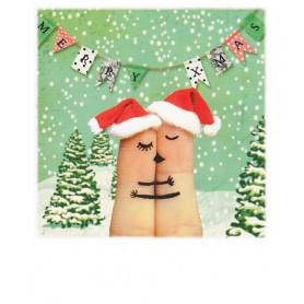 Polacard - Christmas hug