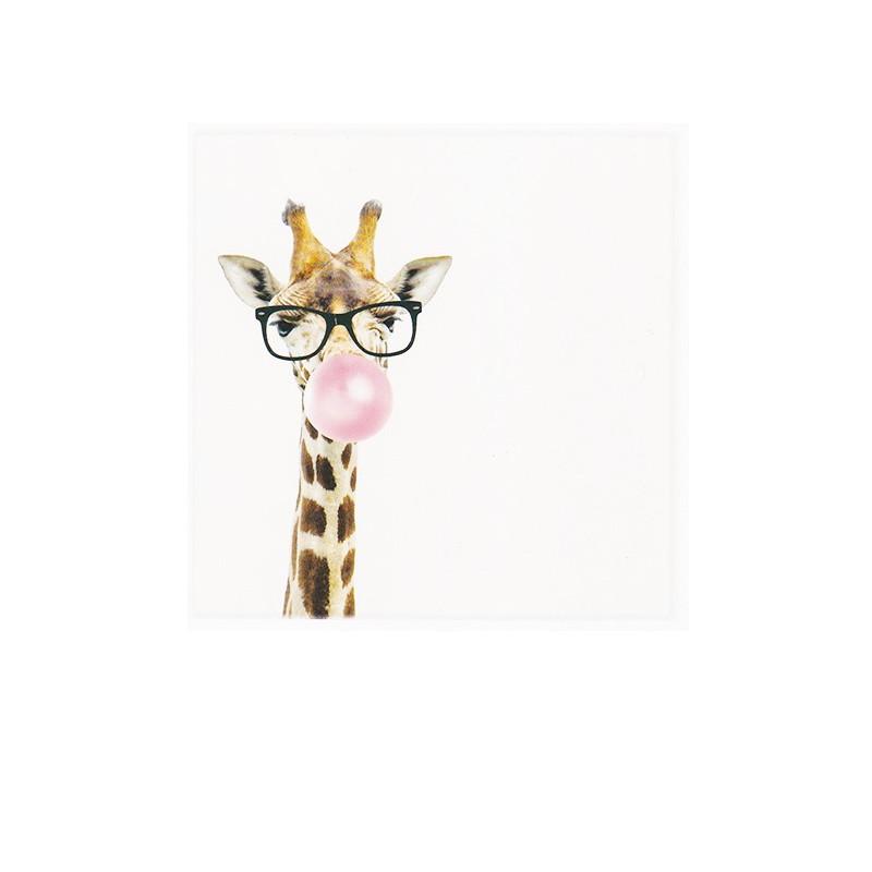 Polarcard - Bubblegum Giraffe