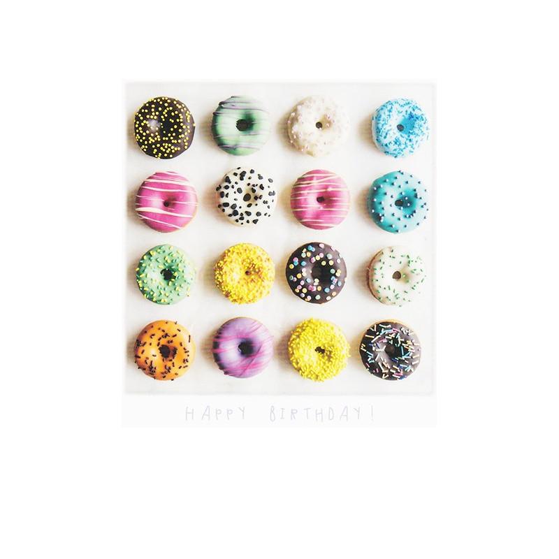 Polarcard - Birthday Donuts