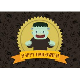 Kitsune Art - Happy Halloween (Frankenstein)