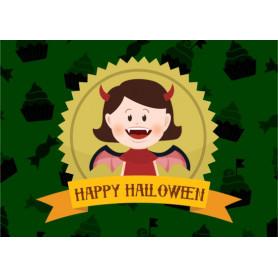Kitsune Art - Happy Halloween (Vampire)