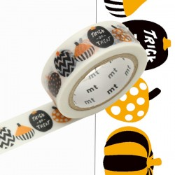 MT Masking Washi tape - Cute Alphabet N-Z