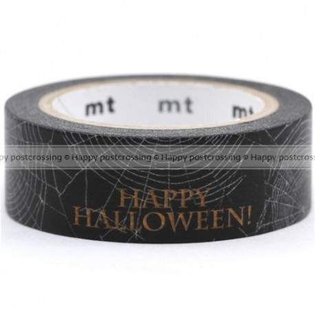 MT Masking Washi tape - Halloween Spider Web