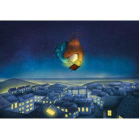 Ila Illustrations - Flying Book