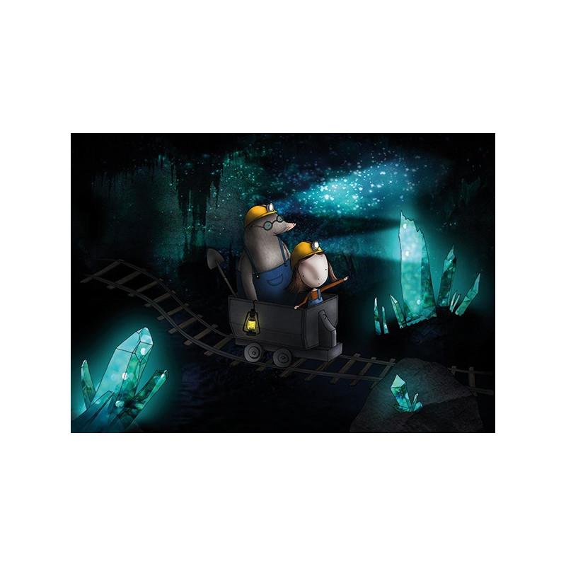 Ila Illustrations - Mole o'Miner