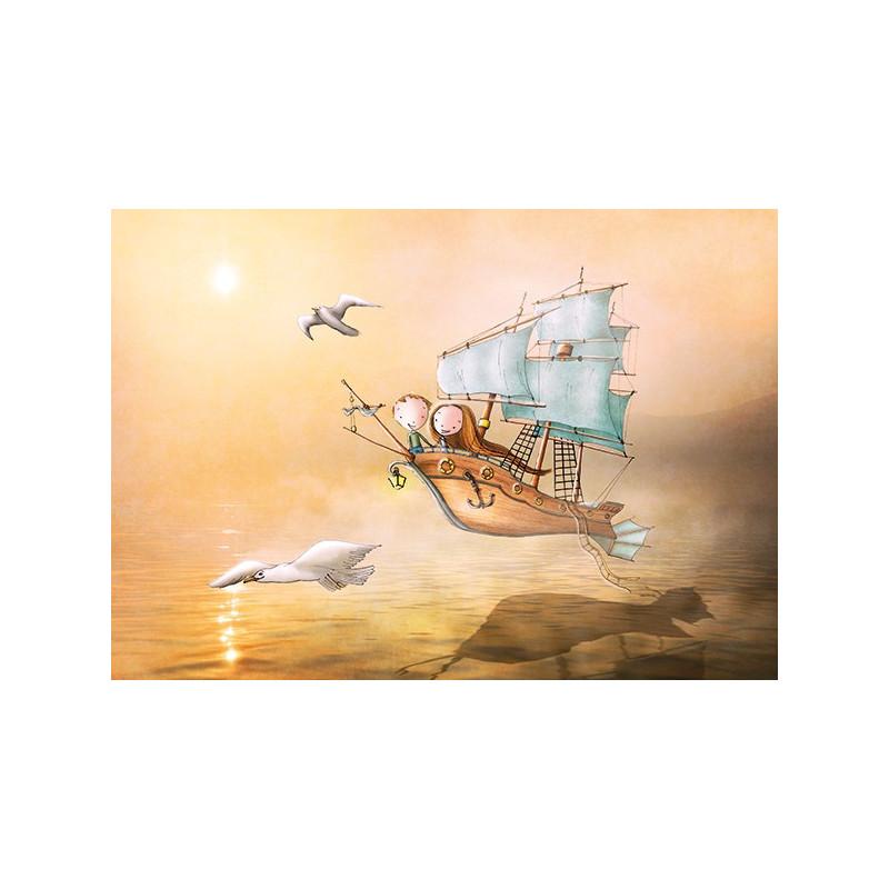 Ila Illustrations - Sailing