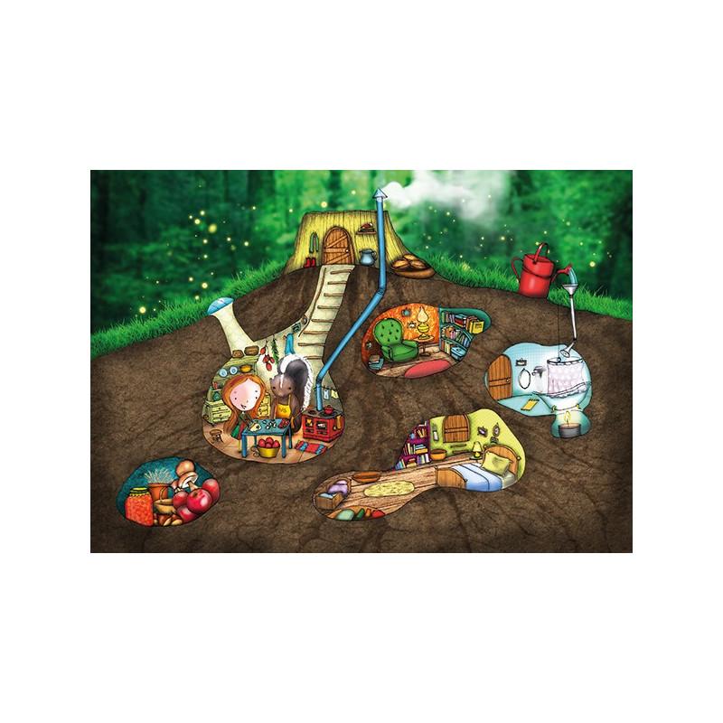 Ila Illustrations - Secret Home