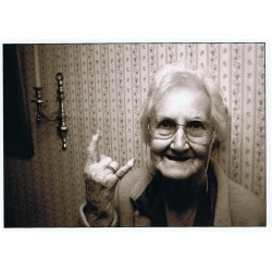Rock and Roll granny