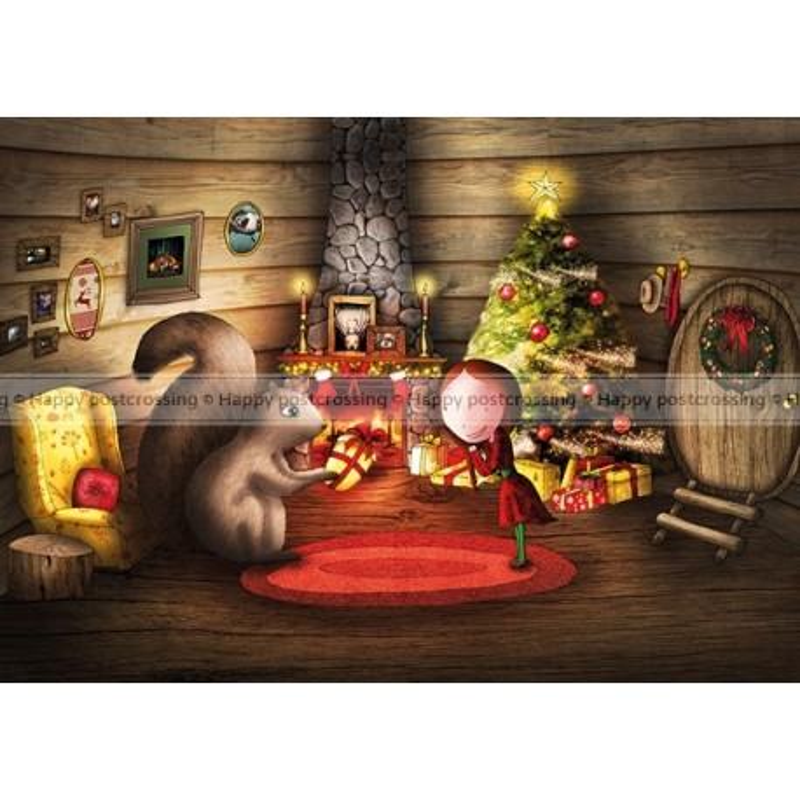 Ila Illustrations - The golden nut