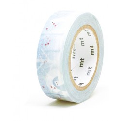 MT Masking Washi tape - Ermine in Snow