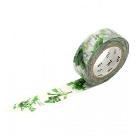 MT Masking Washi tape - Herbs of Spring