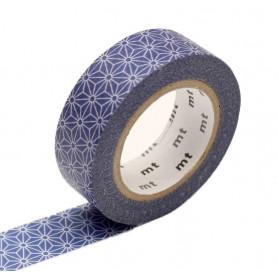 MT Masking Washi tape - Asanoha Konruri