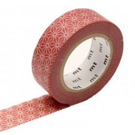MT Masking Washi tape - Asanoha Araishu