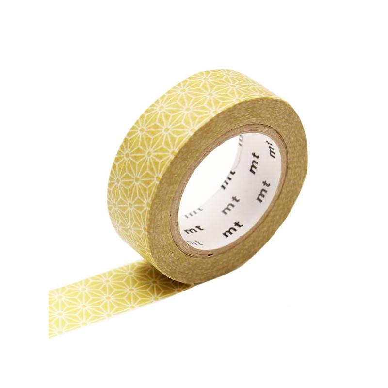 MT Masking Washi tape - Asanoha Karekusa