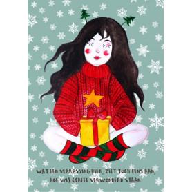 Kitsune Art - Christmas girl 2