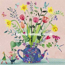 Mila Marquis - Flowers in a Teapot
