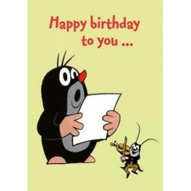 Krtek - Happy Birthday