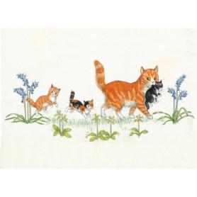Molly Brett - Cat with kittens