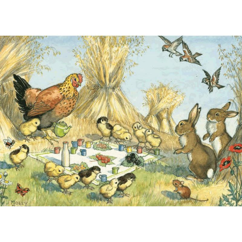 Molly Brett - Baby chickens