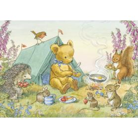 Molly Brett - Teddy his tent