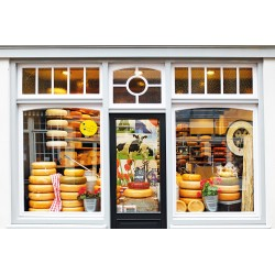 Dutch cheese store