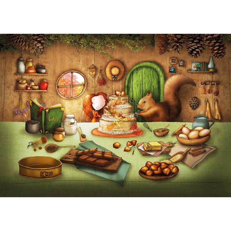 Ila Illustrations - Cake