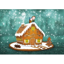 Ila Illustrations - Gingerbread house