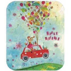 Jehanne Weyman - Birthday car