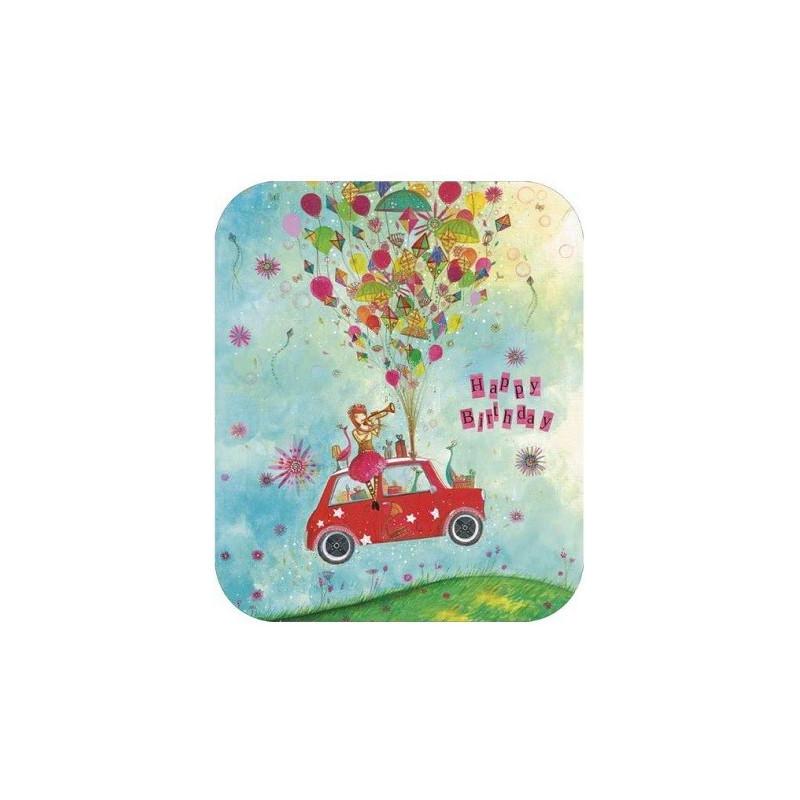 Jehanne Weyman - Birthday car
