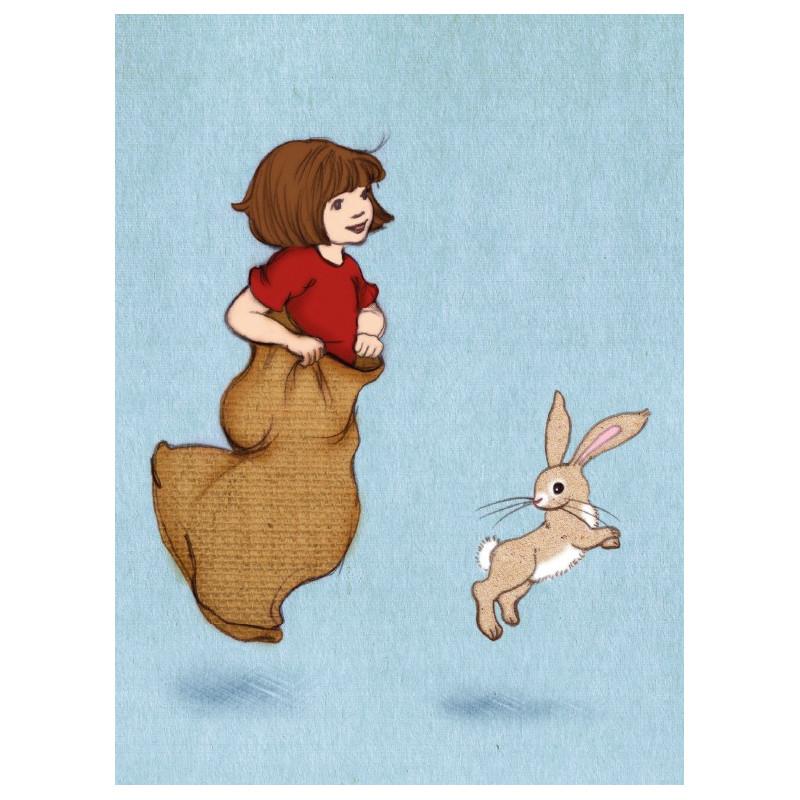 Belle & Boo - Sack race