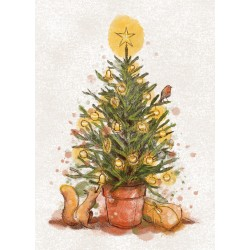 Veera Aro's world of animals - Christmas Tree