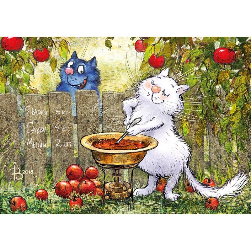Rina Zeniuk Blue Cats - Jam