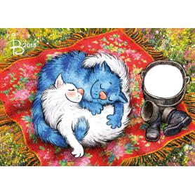 Rina Zeniuk Blue Cats - Picnic