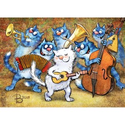 Rina Zeniuk Blue Cats - Jam Session
